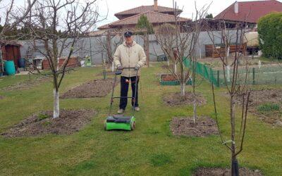 Aktuális kertészeti téma – Gyepszellőztetés márciusban