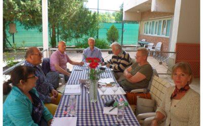 Szerkesztői értekezlet Pasaréten