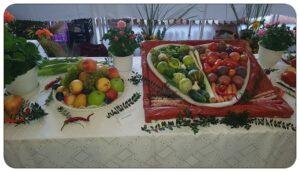 Termény- és virágkiállítás a Fleschben